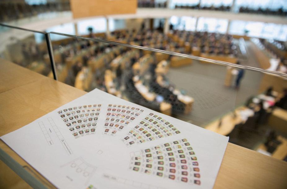Vaiko teisių apsaugos pagrindų įstatymo priėmimai Seime