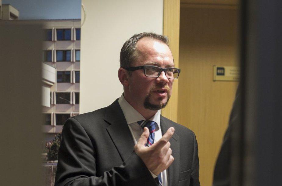 Ryšių reguliavimo tarnybos direktorius Feliksas Dobrovolskis