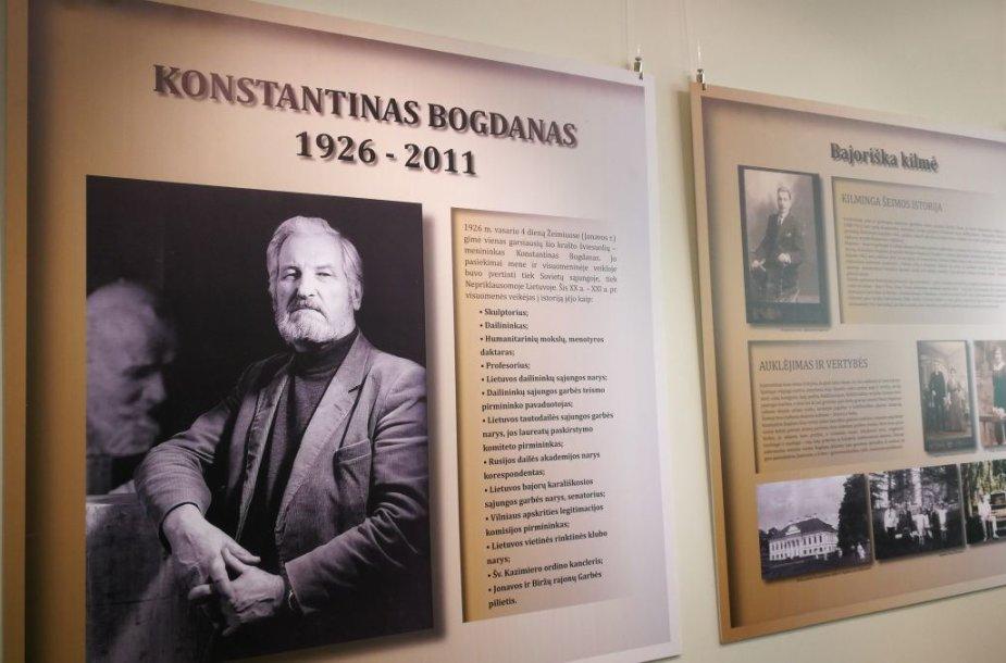 Jonavos rajone atidarytas skulptoriaus Konstantino Bogdano muziejus
