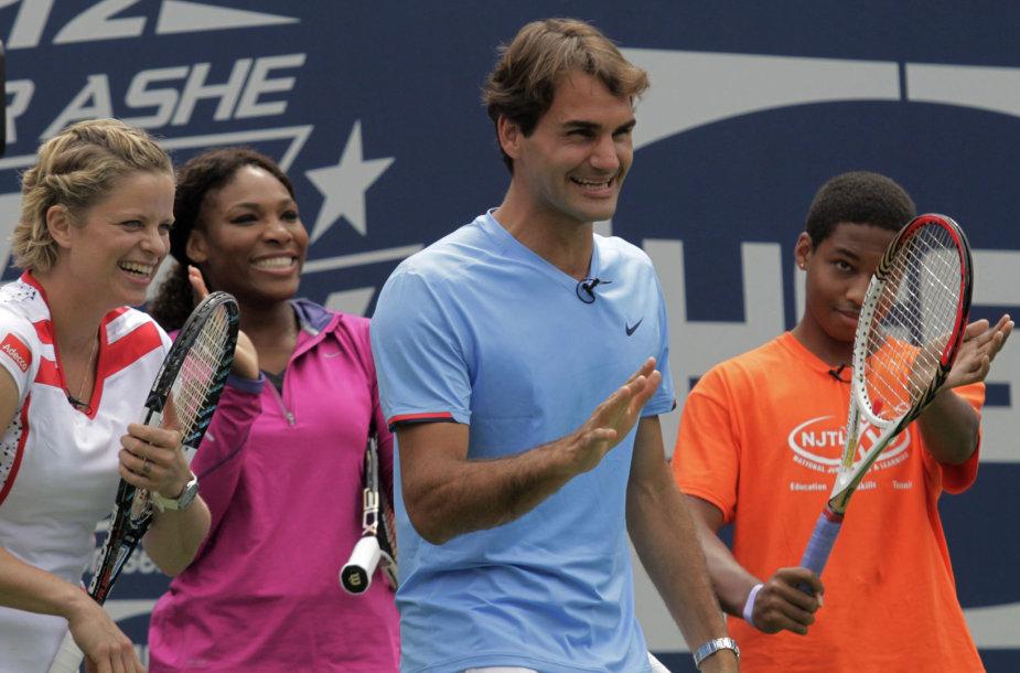 Rogeris Federeris ir Serena Williams