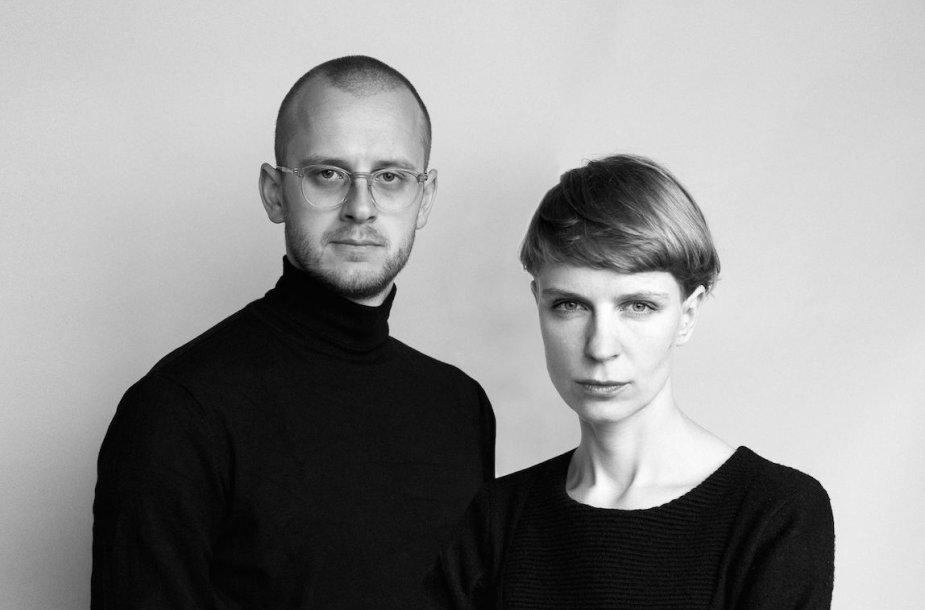 Ona Lozuraitytė ir Petras Išora