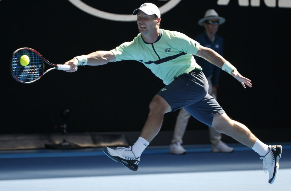 """Australian Open"": Ričardas Berankis – Stanas Wawrinka"