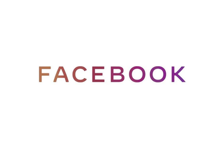 """""""Facebook"""" įmonės logotipas"""