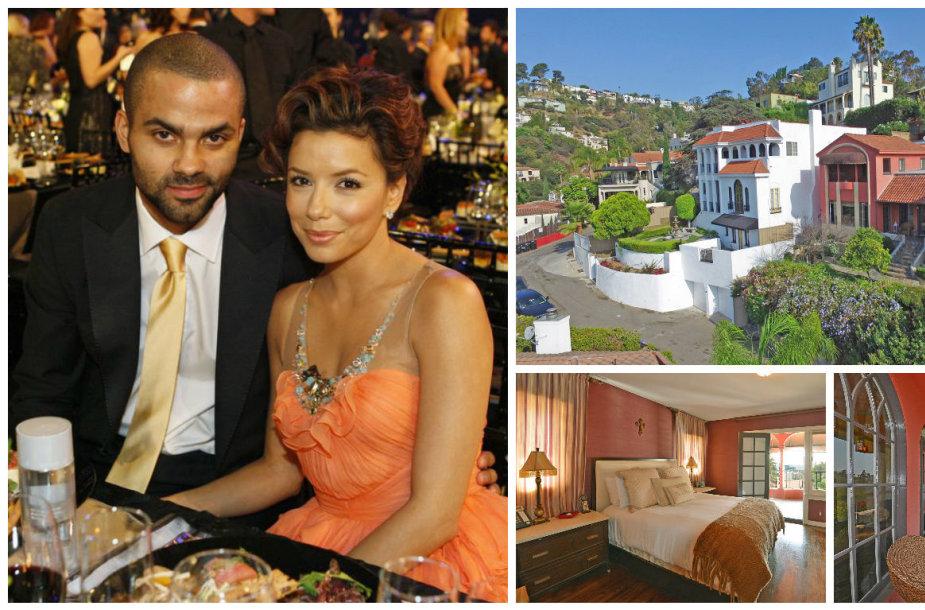 Eva Longoria parduoda namą Holivude, kuriame gyveno su buvusiu vyru Tony Parkeriu