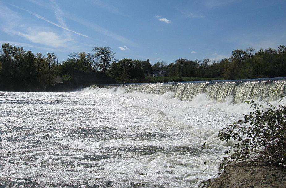Baltosios upės užtvanka