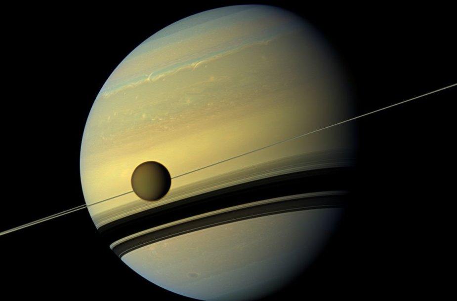 Saturno palydovas Titanas
