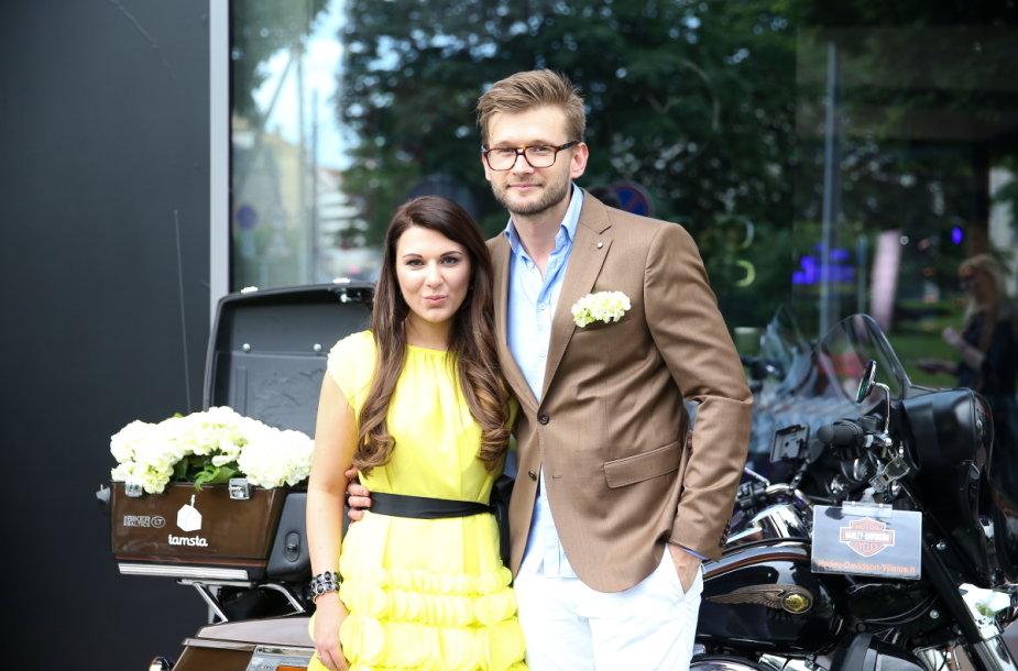 Alfas Ivanauskas ir Ingrida Navickaitė