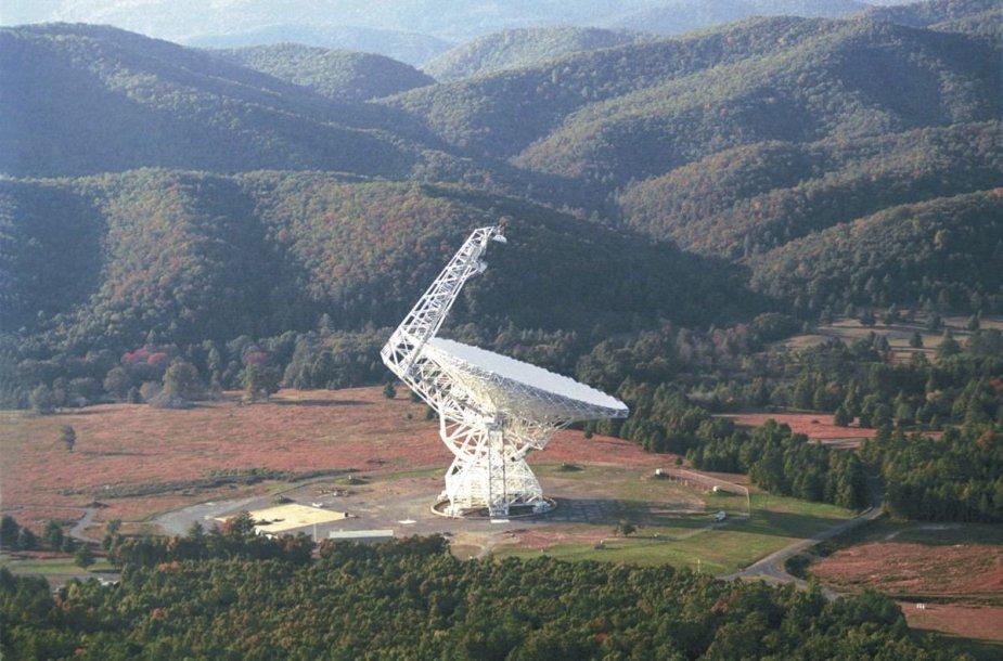 Grynbanko 100 m skersmens radijo teleskopas