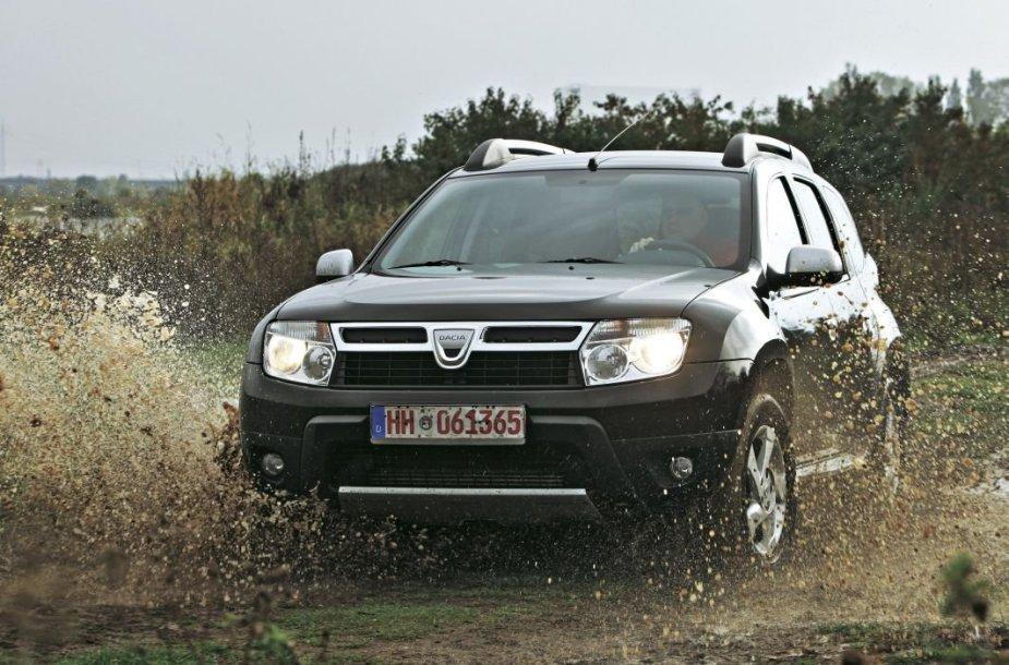 """""""Auto Bild"""" bandyme naudotas """"Dacia Duster"""""""