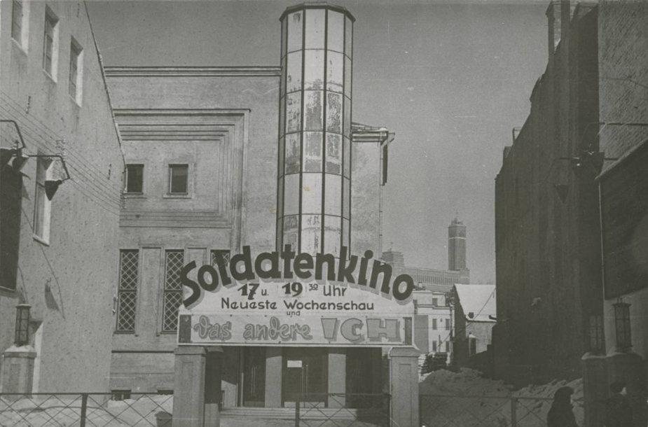 """Kino teatro """"Romuva"""" fasadas"""