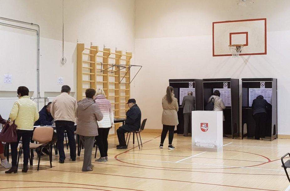Rinkimai Klaipėdoje