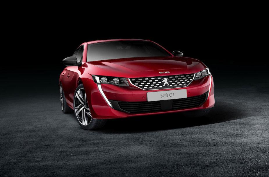 """Naujasis """"Peugeot 508"""""""