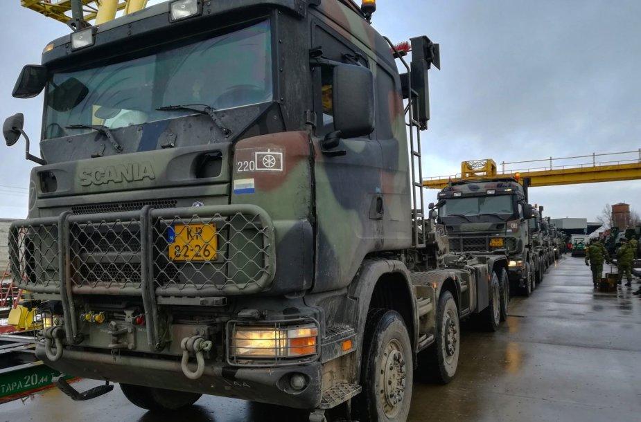 Kroatijos kariai prisijungė prie NATO priešakinių pajėgų bataliono kovinės grupės
