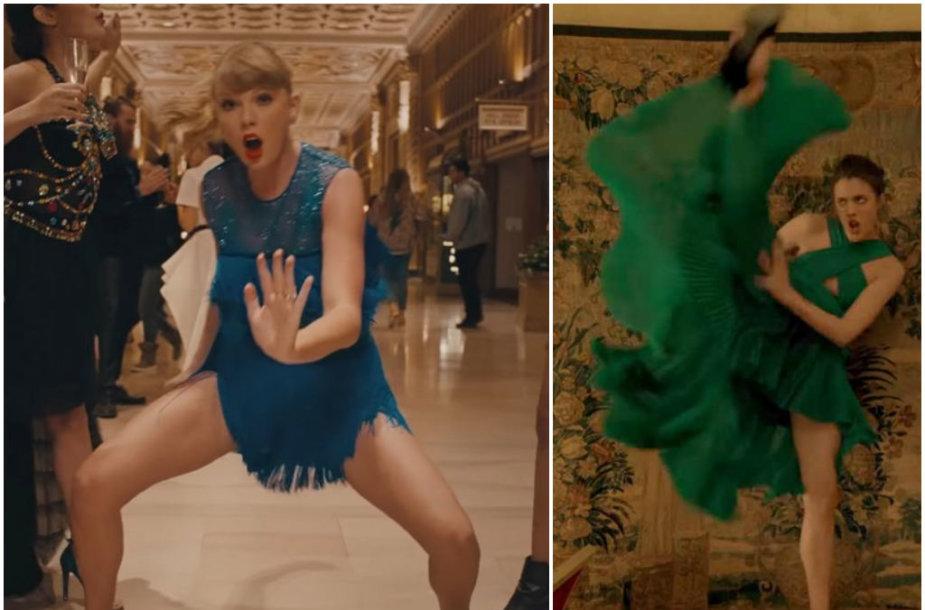 """Taylor Swift vaizdo klipas """"Delicate"""" ir """"Kenzo"""" kvepalų reklama"""