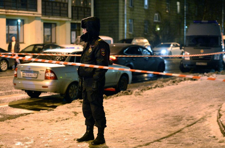 Policininkas Sankt Peterburge
