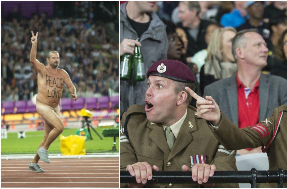 Nuogalius Londono Olimpiniame stadione