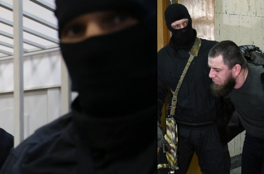 Įtariamieji B.Nemcovo nužudymu