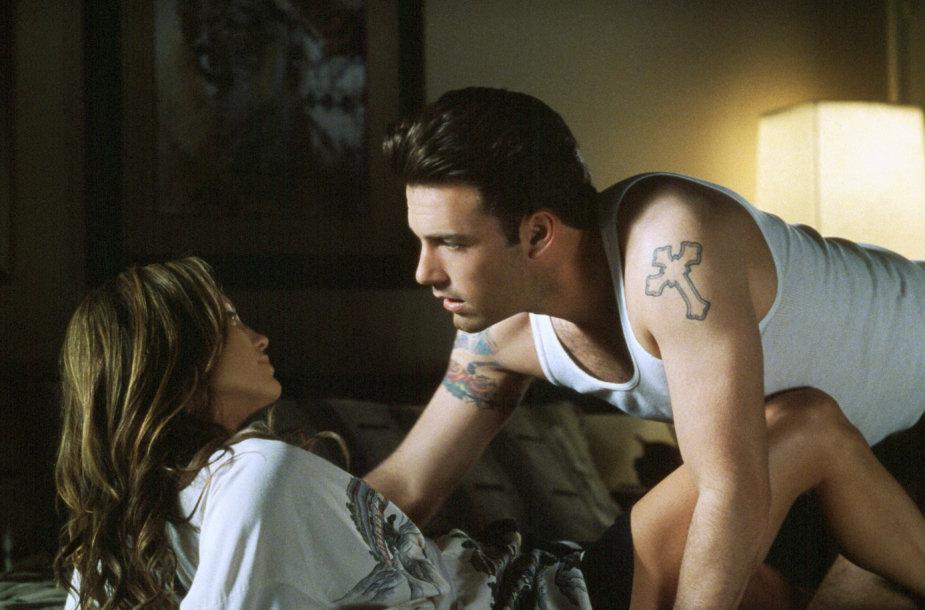 Jennifer Lopez ir Benas Affleckas
