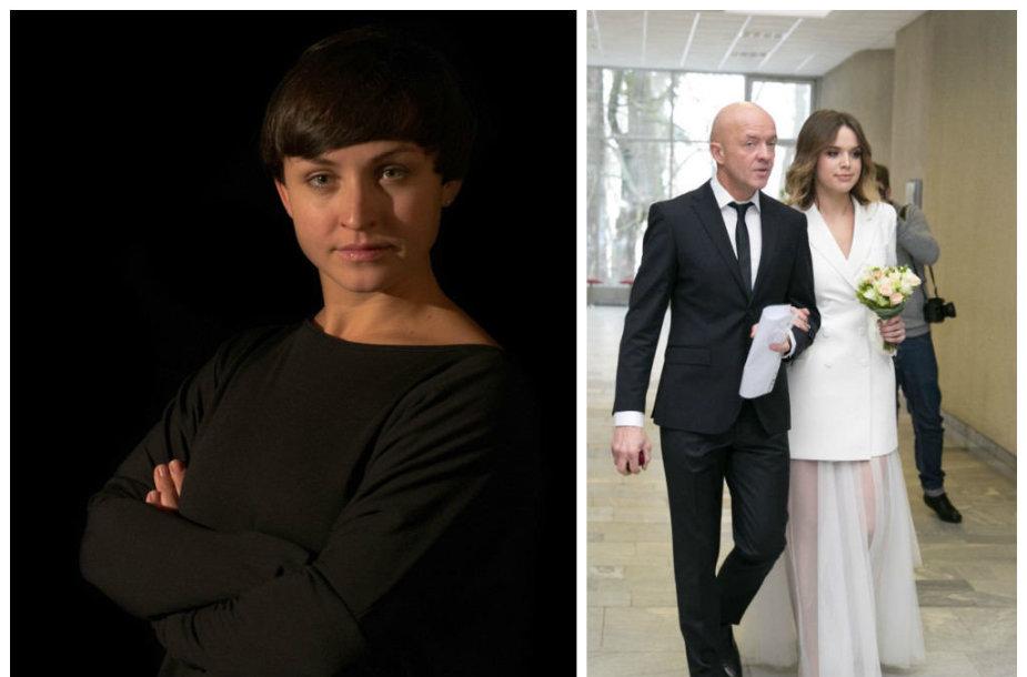 Katerina Voropaj ir Ramūnas Rudokas su žmona Justina