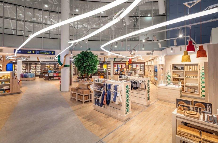 Parduotuvės ir kavinės Vilniaus oro uoste