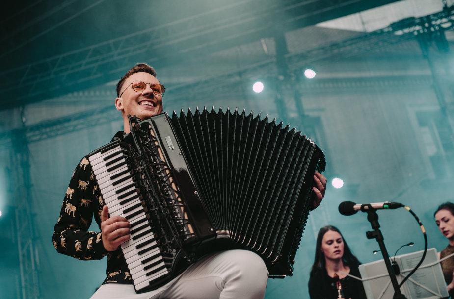 Martyno Levickio koncerto akimirka