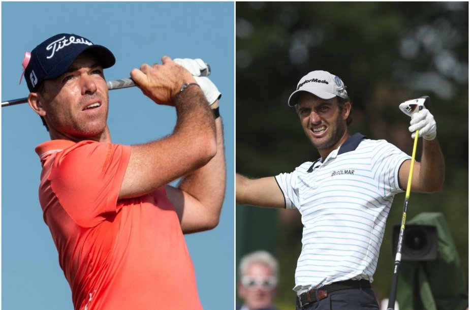 Loranzo Gagli ir Edoardi Milonari izoliuoti per golfo turnyrą Omane.