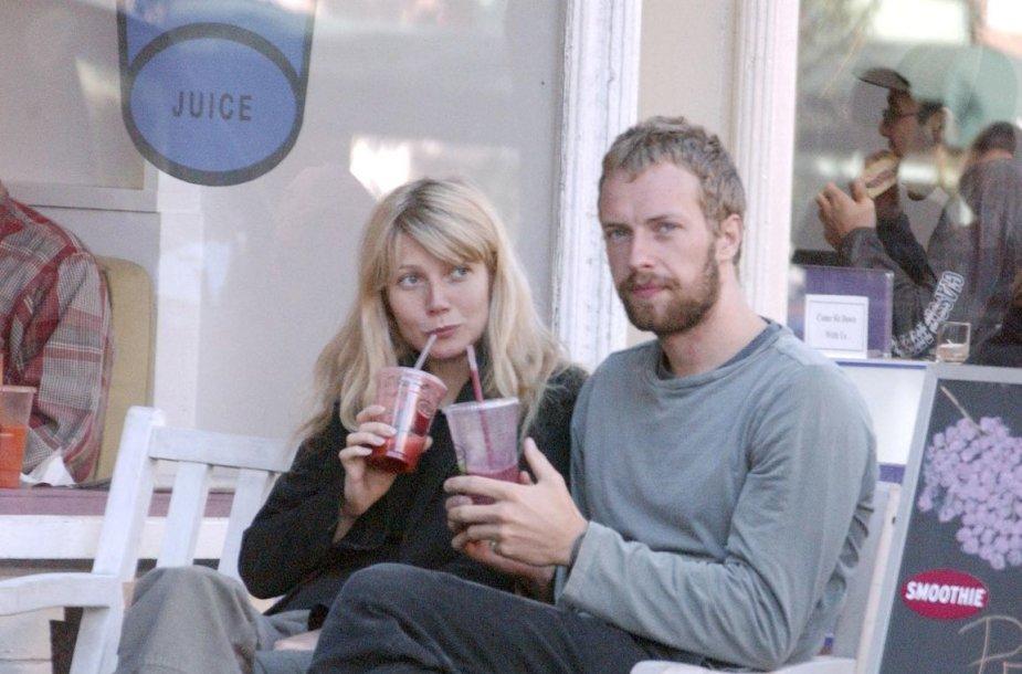 Gwyneth Paltrow ir Chrisas Martinas 2003 metais