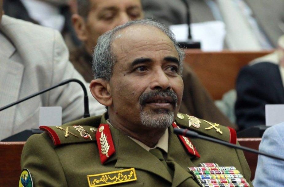 Jemeno gynybos ministras Mahmud al Subaihi