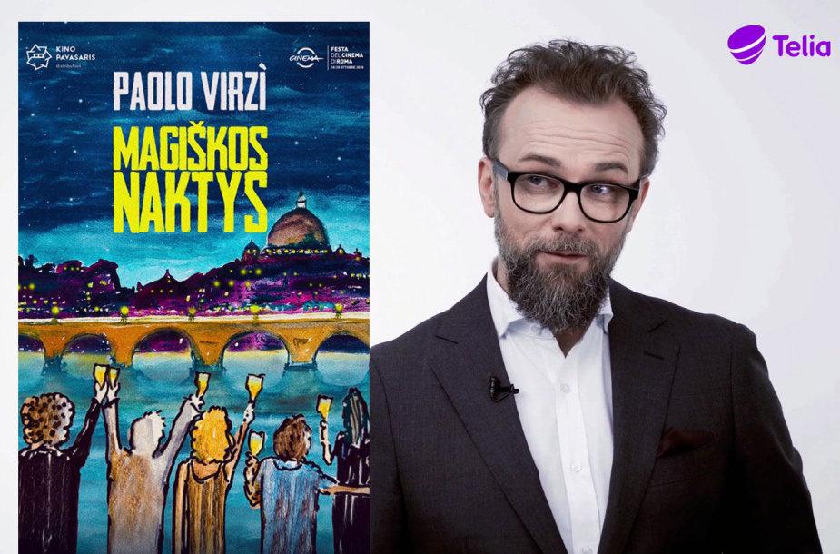 """Ryčio Zemkausko """"Kino pavasario"""" favoritų sąraše – filmas """"Magiškos naktys"""""""
