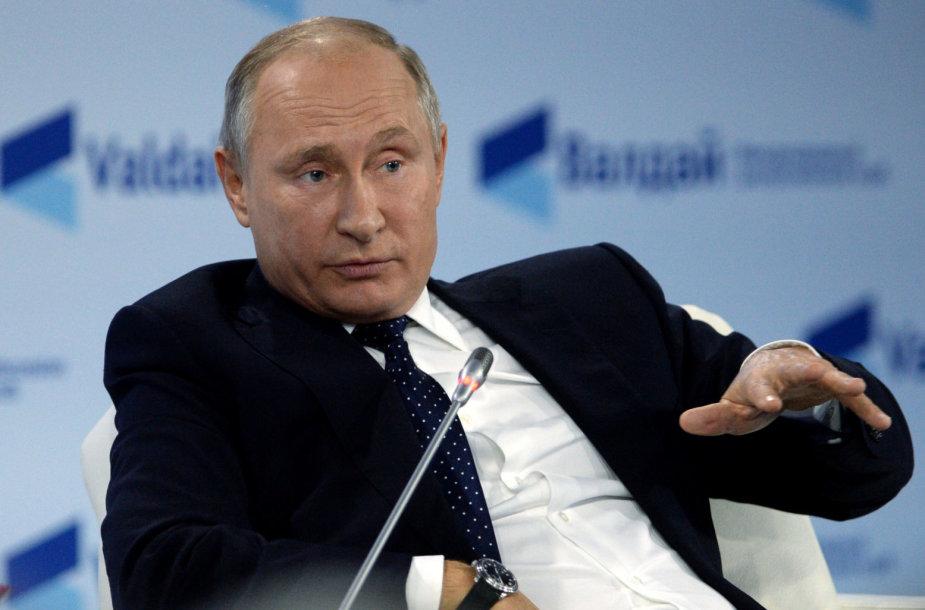 Vladimiras Putinas Valdajaus diskusijų klube