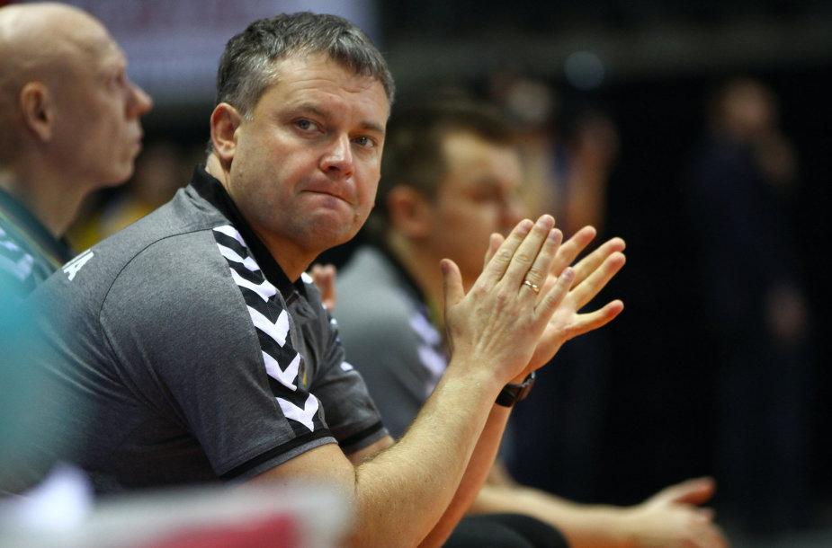 Lietuvos rankinio rinktinės treneris Artūras Juškėnas