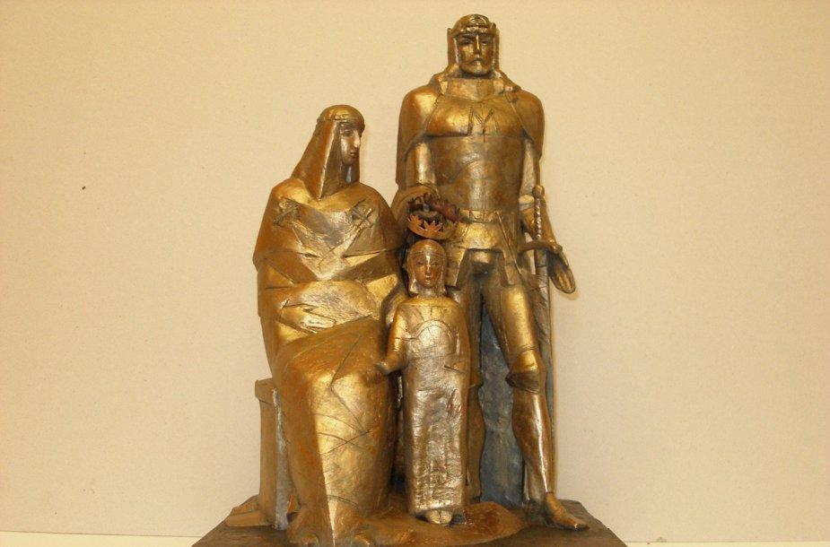 Karalius Mindaugas, Morta ir sūnus