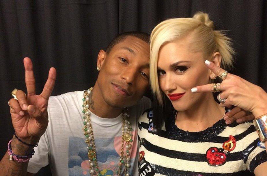 Pharrellas Williamsas ir Gwen Stefani