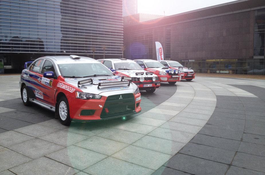 N40 ralio komandos automobiliai
