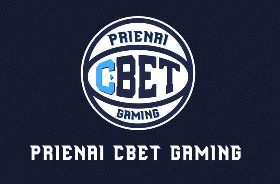 """Prienų """"CBet"""" esporto komanda"""