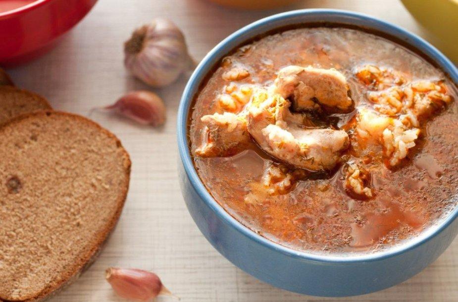 Gruziniška charčio sriuba