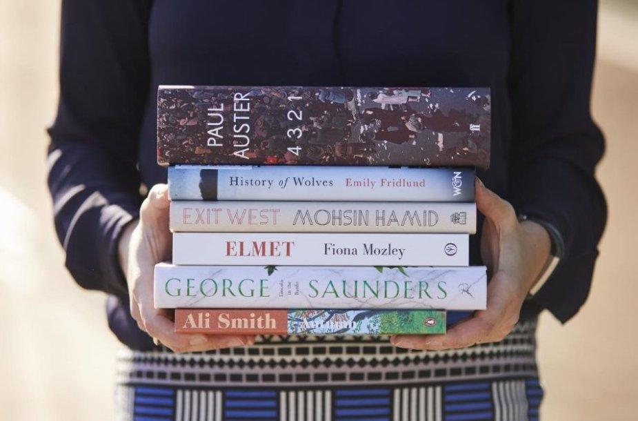 """Trumpojo """"Man Booker"""" sąrašo knygos"""