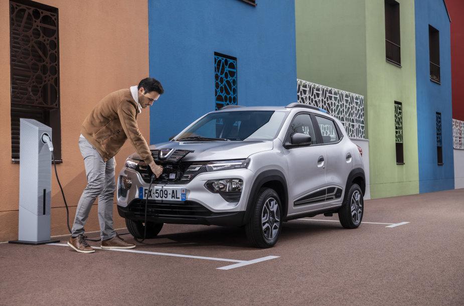 Elektromobilis Dacia Spring