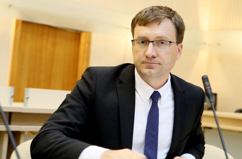 Naujas KTE vadovas Evaldas Paulavičius