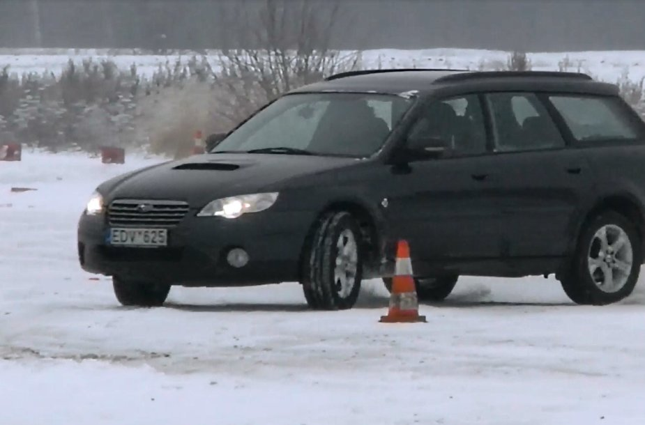 Ekstremalaus vairavimo pamoka
