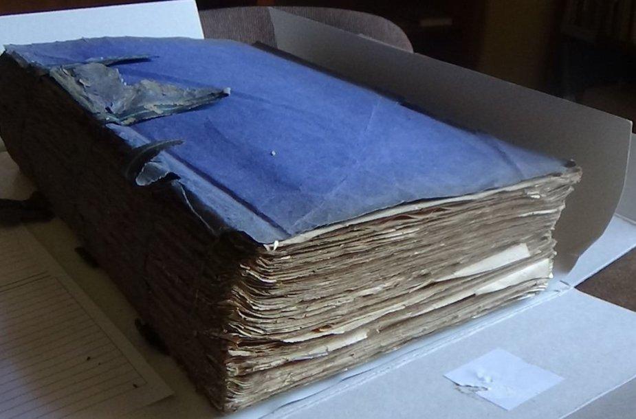 Žydų mokslo tyrimų instituto (YIVO) sukaupti dokumentai