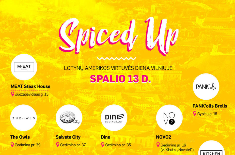 """""""Spiced up"""""""