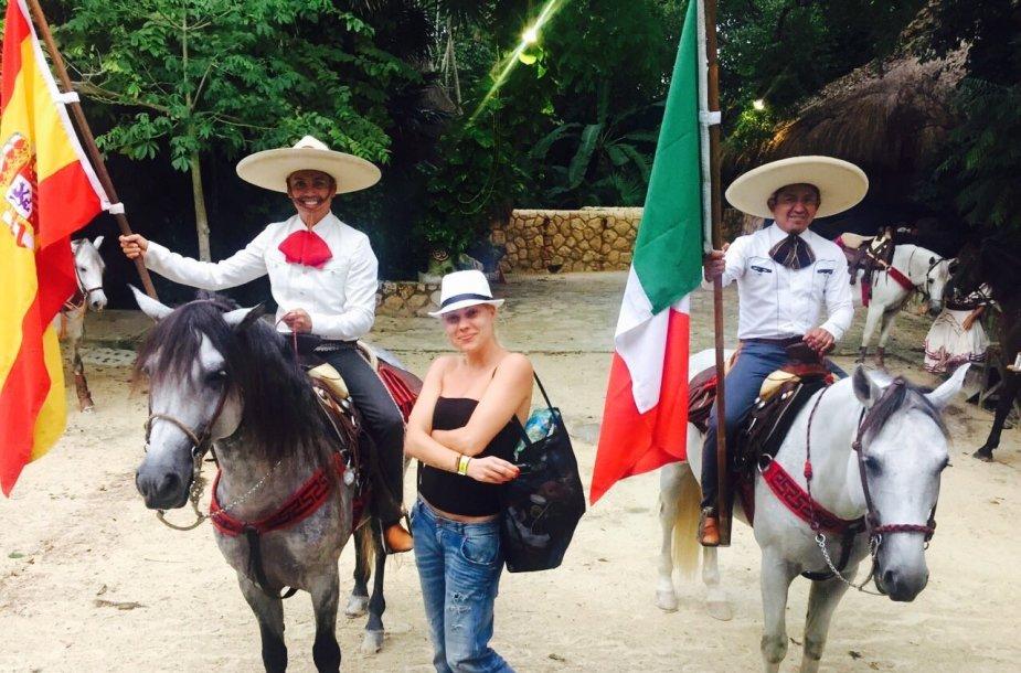 Nijolė Pareigytė-Rukaitienė Meksikoje