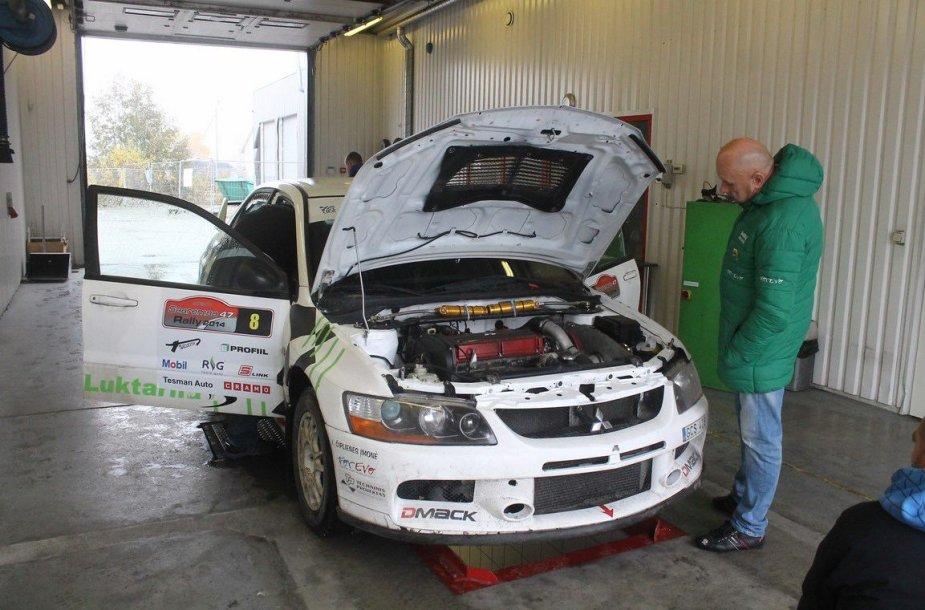 """""""Rally Saaremaa 2014"""" techninė komisija"""