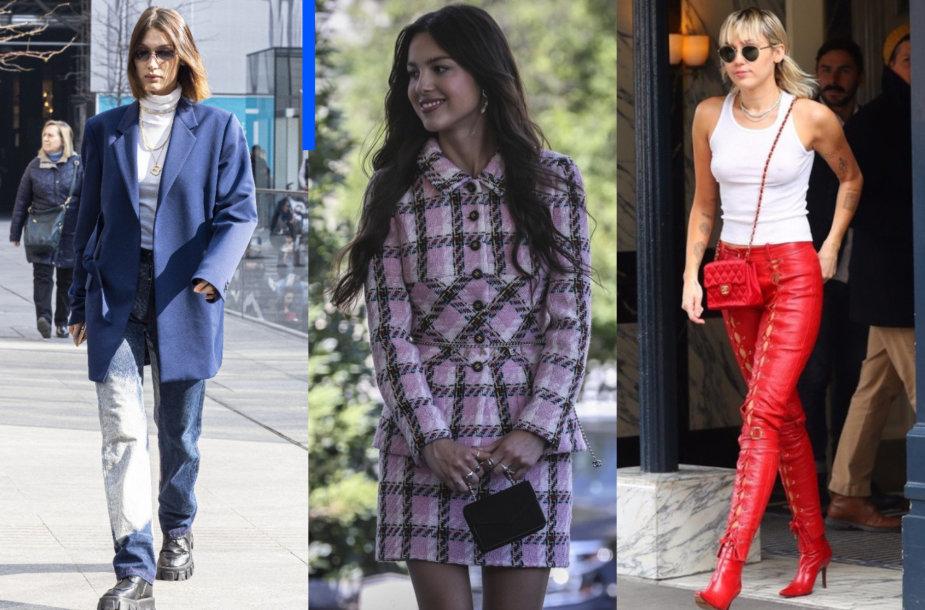 Bella Hadid, Olivia Rodrigo, Miley Cyrus