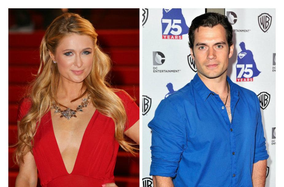 Paris Hilton ir Henry Cavillas