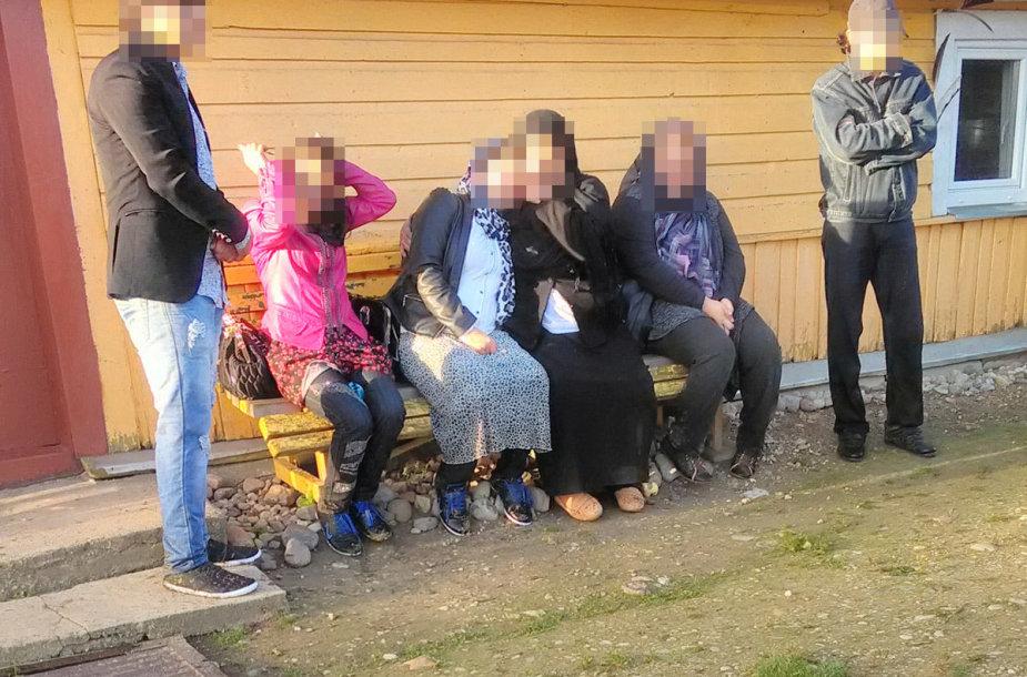 Nelegalūs migrantai sulaikyti Rimaldiškių kaime
