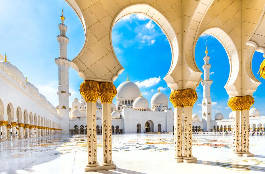 Didžioji šeicho Zaido mečetė, Abu Dabis