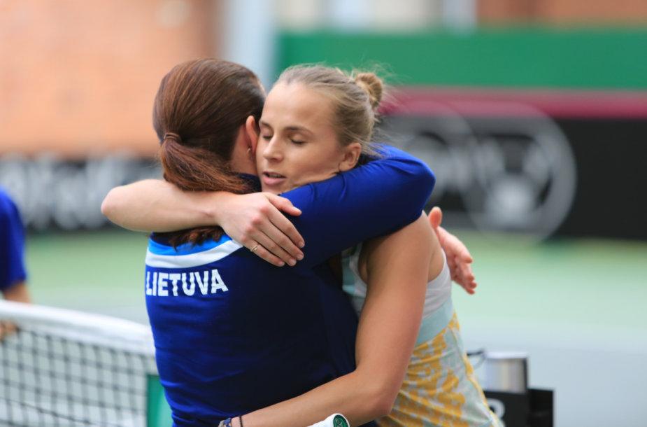 Lina Stančiūtė su trenere