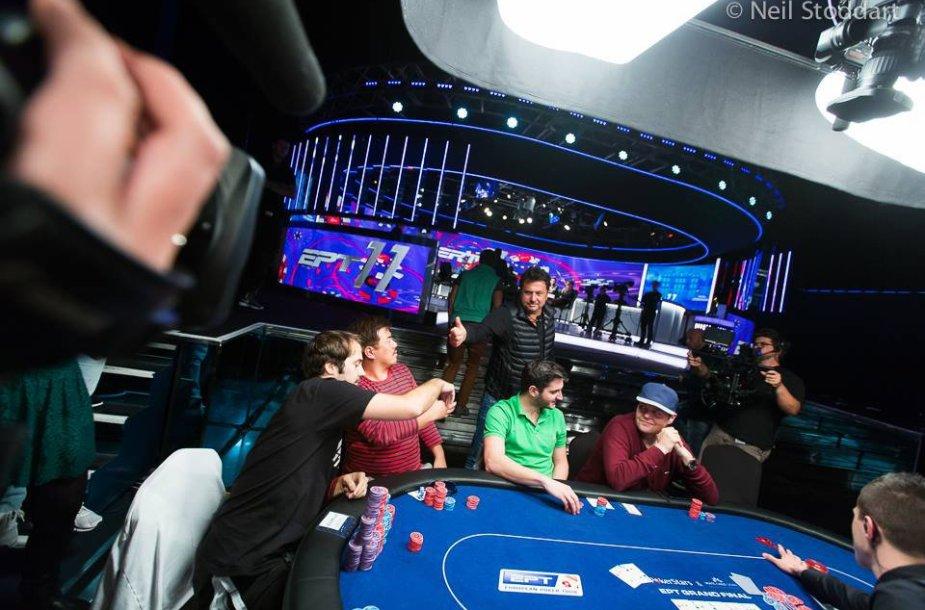 Europos pokerio turo (EPT) Didžiojo finalo akimirka